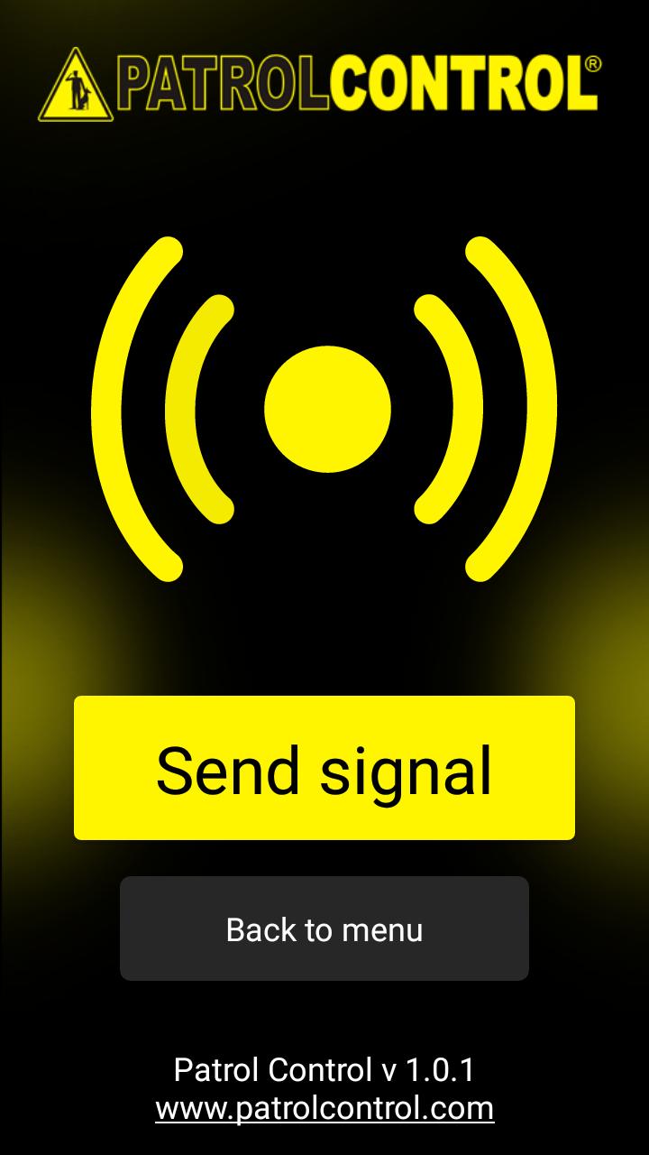 screen patrolcontrol app
