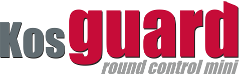 Kontrolní obchůzkový systém KOSguard logo